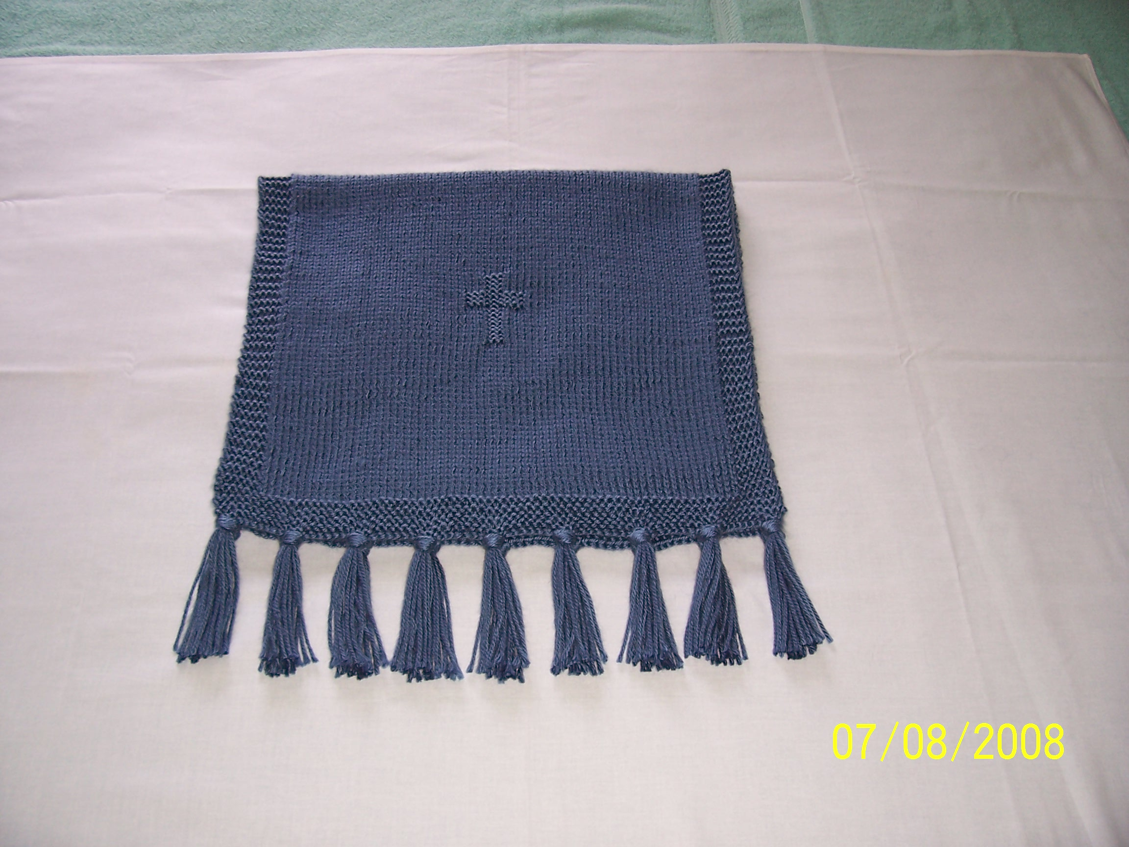 Prayer shawl with two crosses bankloansurffo Image collections